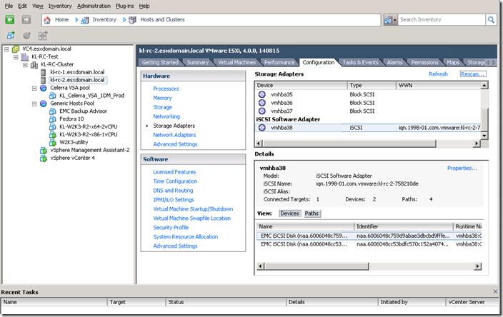 iSCSI con VMware vSphere | MARGOTU