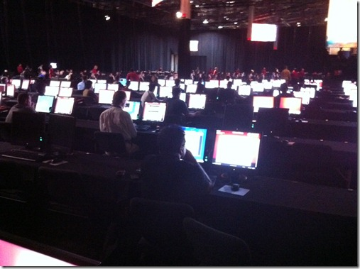 Attendees enjoying the VMWorld Labs (2)