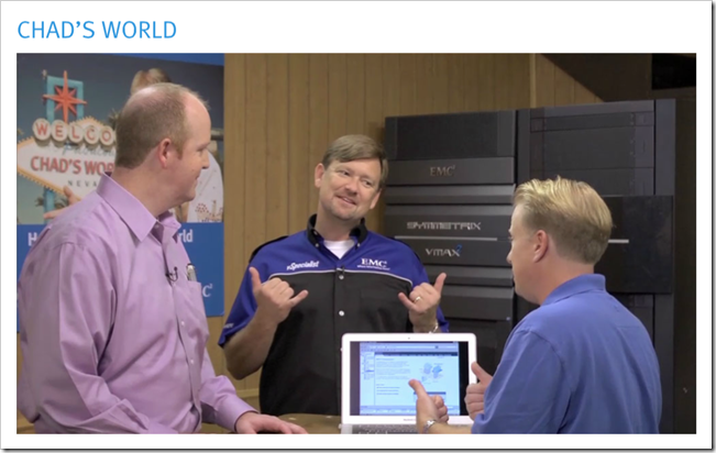 Chads World Episode #9 is live! (Heritage Auctions, VMAXe, Isilon